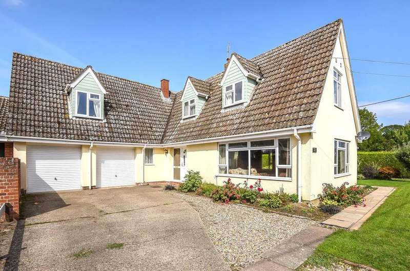 4 Bedrooms Detached House for sale in The Green, Hargrave, Bury St Edmunds, Suffolk, IP29