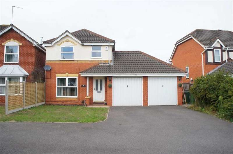 3 Bedrooms Detached House for sale in Tressell Way, Leicester