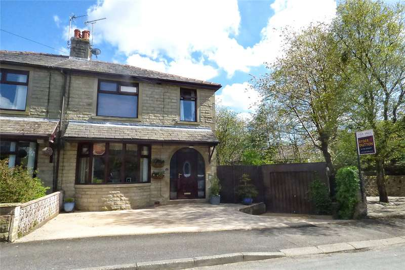 3 Bedrooms Semi Detached House for sale in Greensnook Lane, Bacup, Lancashire, OL13
