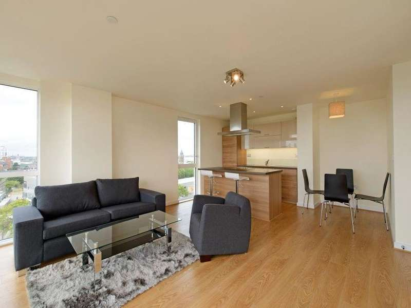 2 Bedrooms Flat for sale in Hay Currie Street, London E14