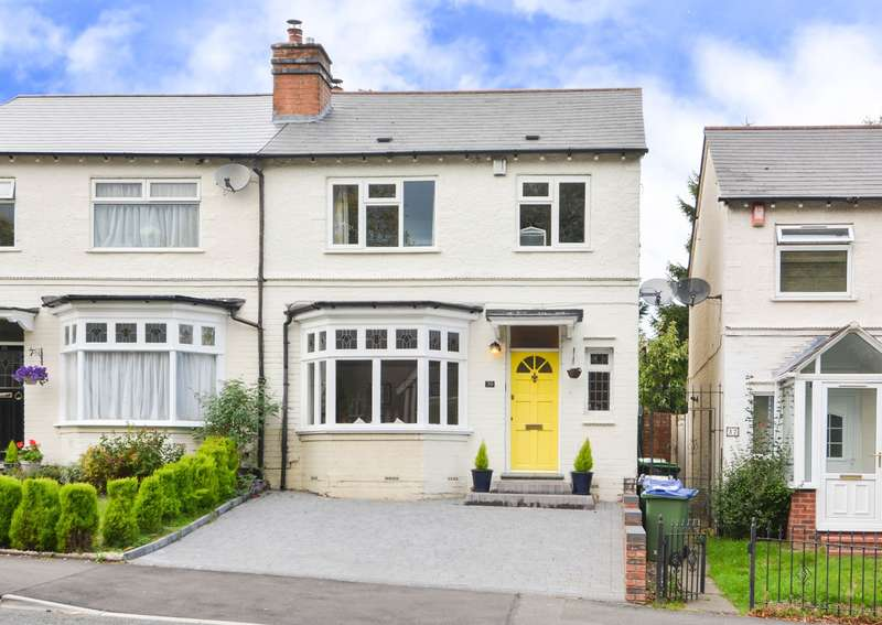3 Bedrooms Semi Detached House for sale in Lightwoods Hill, Bearwood, B67