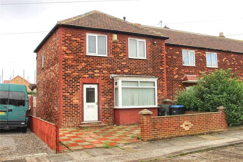 3 Bedrooms End Of Terrace House for sale in Hershall Drive, Pallister Park