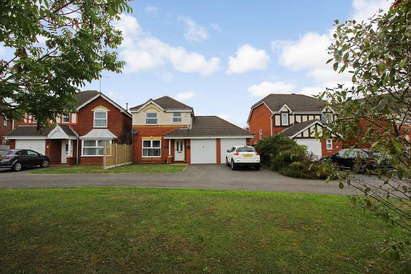 3 Bedrooms Detached House for sale in Tressell Way, Thorpe Astley, Leicester, LE3