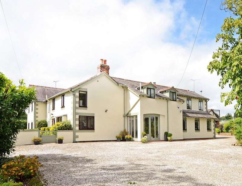 5 Bedrooms Detached House for sale in Lower Mountain Road, Higher Kinnerton, Nr Chester, LL12