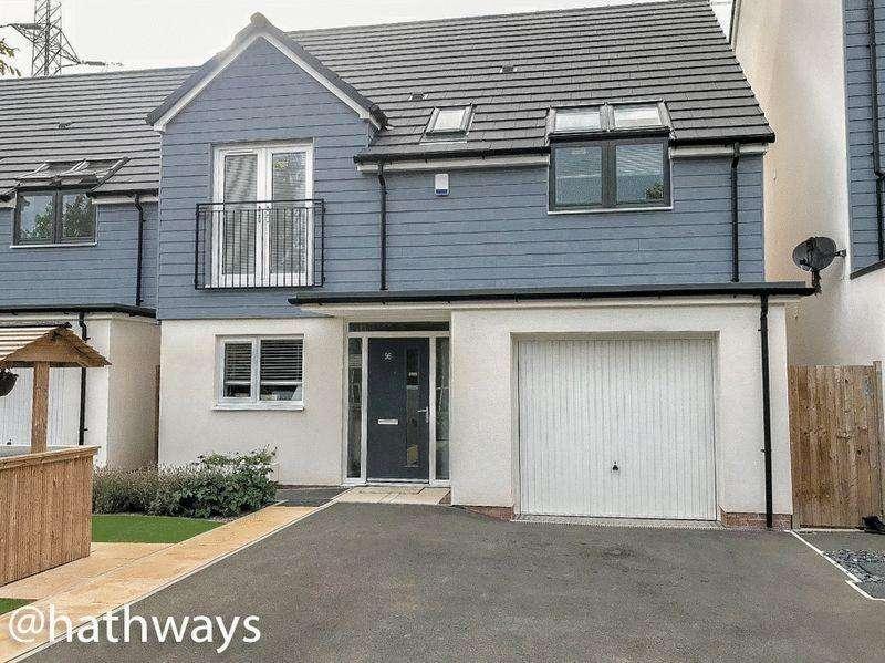 4 Bedrooms Detached House for sale in Spencer Way, Newport