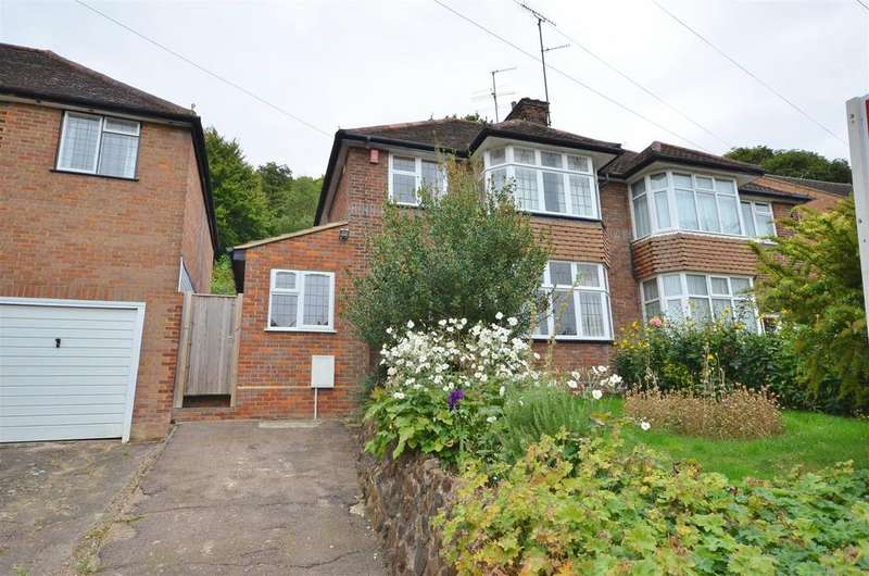 3 Bedrooms Semi Detached House for sale in Wardown Crescent, Close to Wardown Park