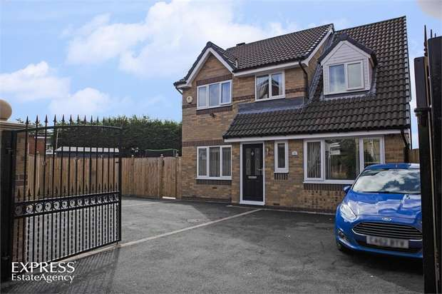 4 Bedrooms Detached House for sale in Fairfield Road, Heckmondwike, West Yorkshire