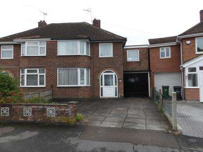 4 Bedrooms Semi Detached House for sale in Fieldgate Crescent, Birstall, Leicester, Leicestershire