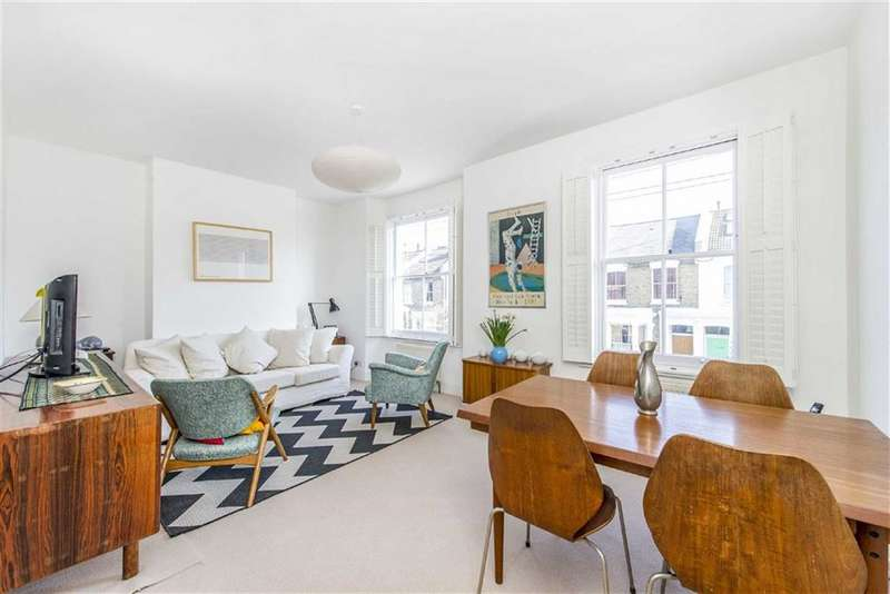 3 Bedrooms Flat for sale in Broughton Road, Fulham, London, SW6