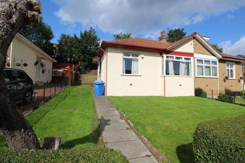 2 Bedrooms Semi Detached Bungalow for sale in 395 Kingsbridge Drive, Rutherglen, GLASGOW, G73 2BT