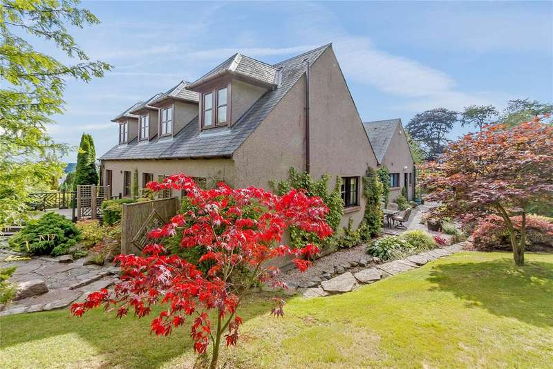 5 Bedrooms Detached House for sale in Balbeuchley, Auchterhouse, Dundee