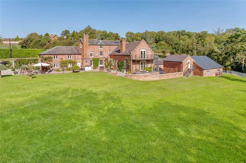 5 Bedrooms Detached House for sale in Redhill, Hook A Gate, Shrewsbury, Shropshire