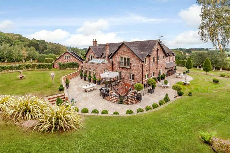 5 Bedrooms Detached House for sale in Bickerton, Malpas, Cheshire