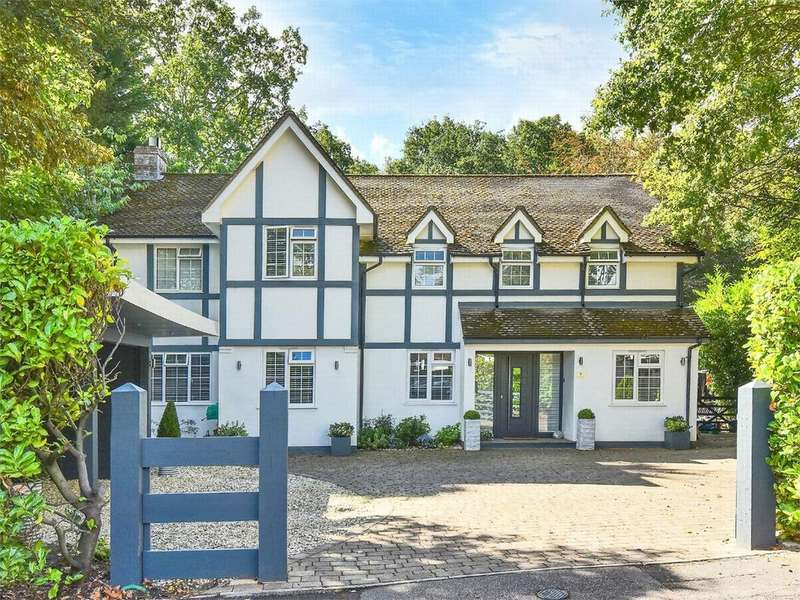 5 Bedrooms Detached House for sale in Highclere Drive, Camberley, Surrey