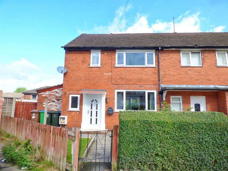 2 Bedrooms End Of Terrace House for sale in York Road West, Alkrington, Middleton, Manchester, M24