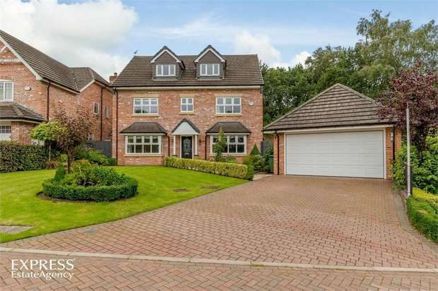 5 Bedrooms Detached House for sale in Augusta Drive, Macclesfield, Cheshire