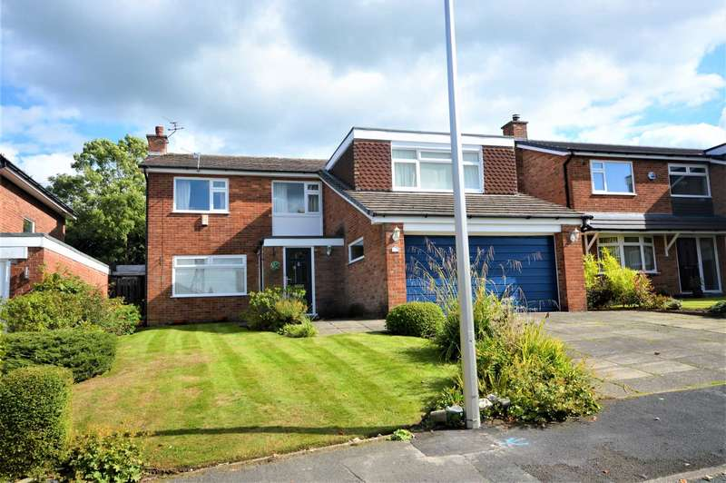 5 Bedrooms Semi Detached House for sale in Brambling Close, Stockport