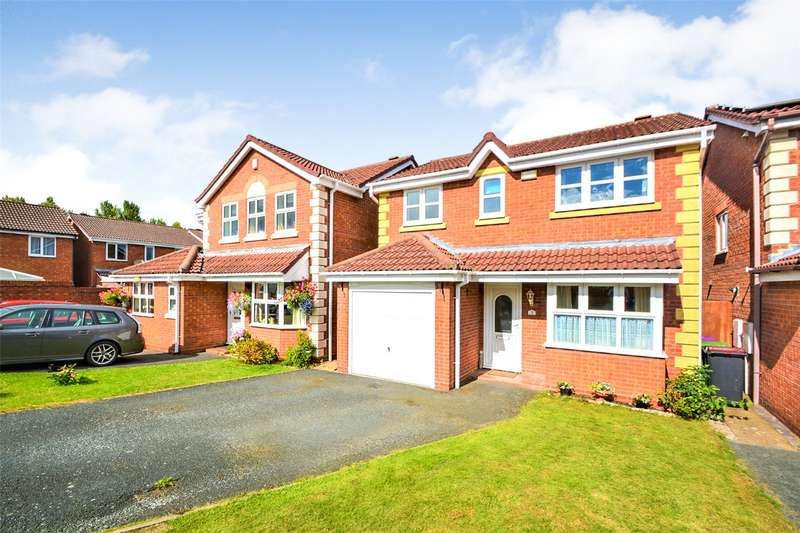 3 Bedrooms Detached House for sale in 3 Gooch Close, Madeley, Telford, TF7