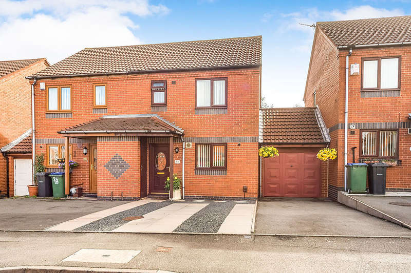 3 Bedrooms Semi Detached House for sale in St. Michaels Way, Tipton, DY4