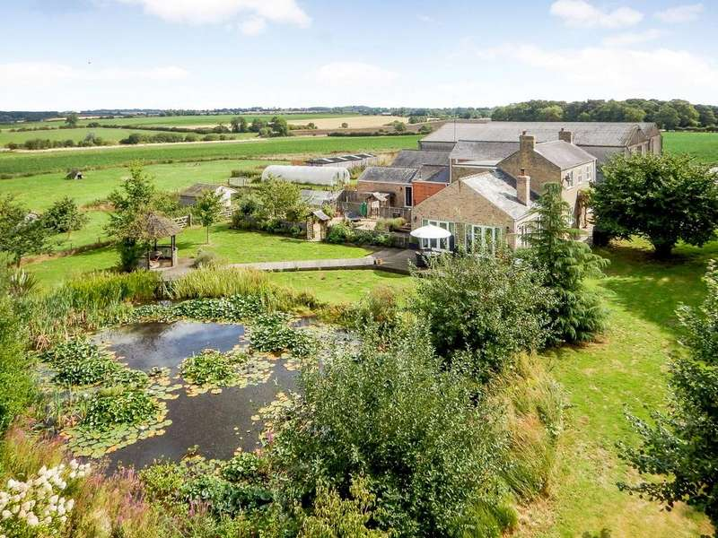 5 Bedrooms Farm Commercial for sale in Grange Farm - Whole, Highgate Lane, Wood Enderby, Lincolnshire, PE22