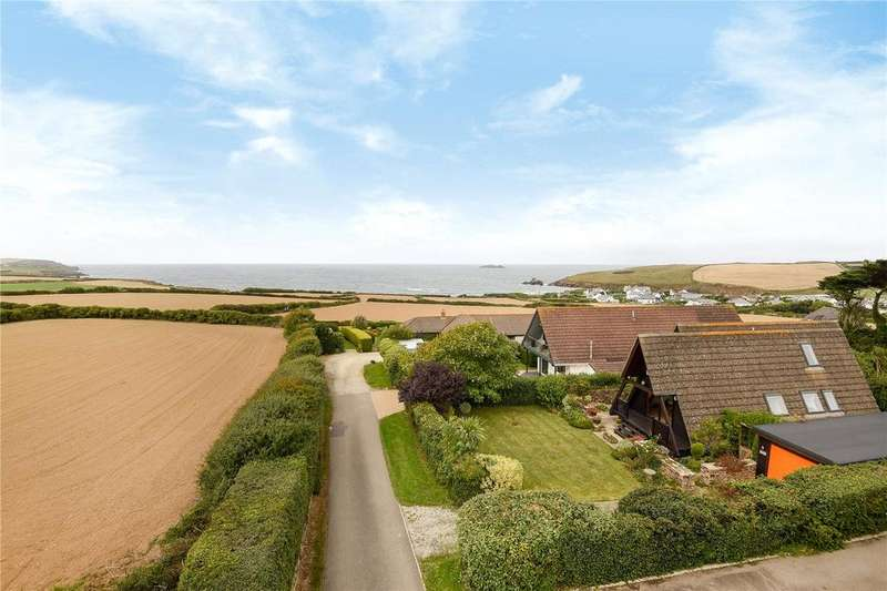 3 Bedrooms Bungalow for sale in Dobbin Lane, Trevone, Padstow, Cornwall, PL28