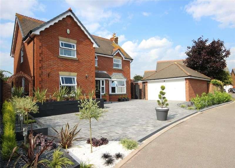 4 Bedrooms Detached House for sale in Arden Close, Bradley Stoke, Bristol, BS32