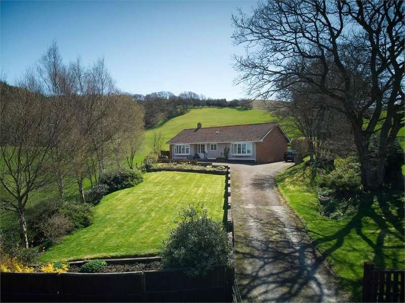 Detached Bungalow for sale in Llanynis, Builth Wells, Powys