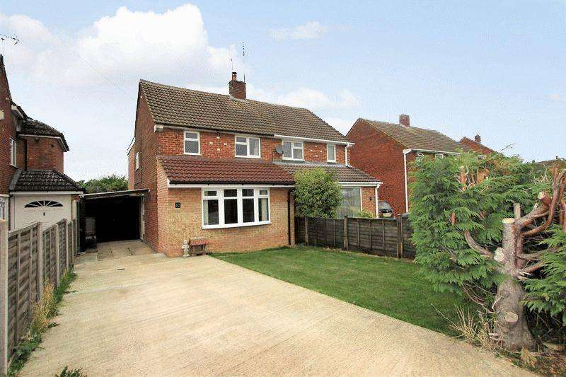 3 Bedrooms Semi Detached House for sale in Greatly Improved Semi In Caddington