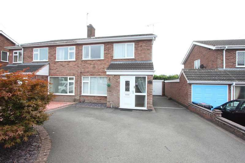 3 Bedrooms Semi Detached House for sale in Seaforth Drive, Hinckley