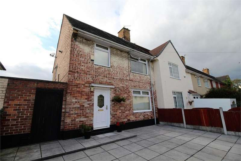 3 Bedrooms Semi Detached House for sale in Lovel Way, Speke, LIVERPOOL, Lancashire