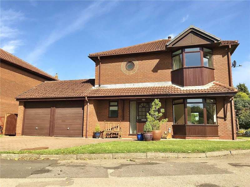 4 Bedrooms Detached House for sale in Vicars Close, Thorpe Thewles, Stockton-on-Tees