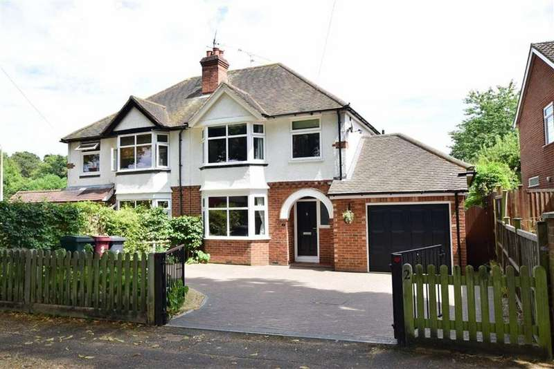 3 Bedrooms Semi Detached House for sale in All Hallows Road, Caversham, Reading