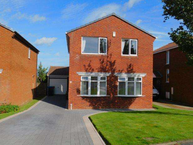 3 Bedrooms Detached House for sale in BYWELL DRIVE, PETERLEE, OAKERSIDE, PETERLEE