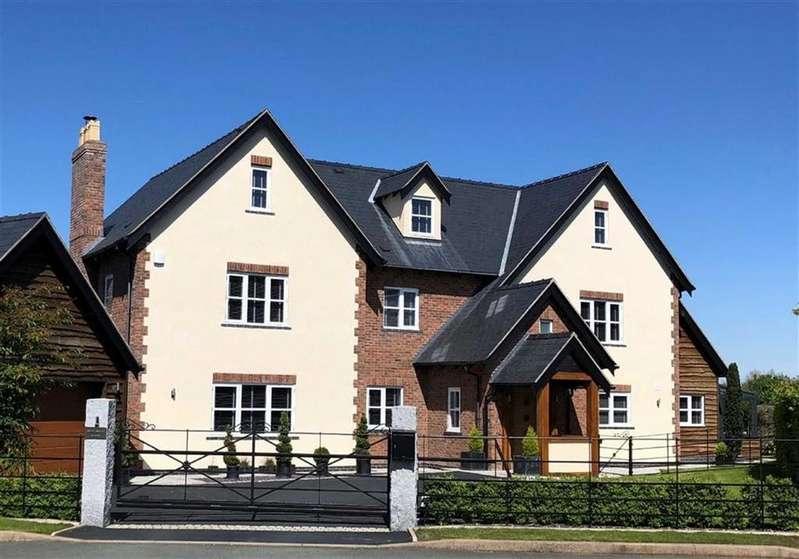 6 Bedrooms Detached House for sale in Belin Mount, Crew Green, Shrewsbury