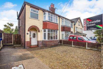 3 Bedrooms Semi Detached House for sale in Brindle Road, Bamber Bridge, Preston, Lancashire, PR5