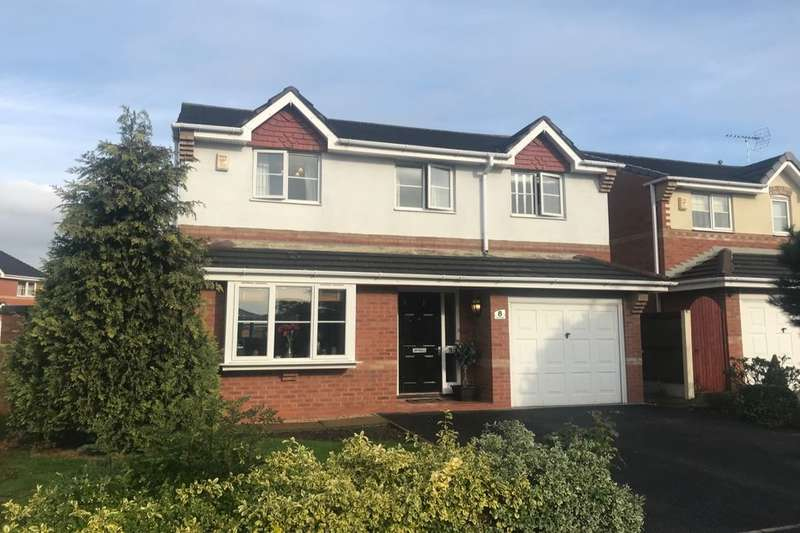 4 Bedrooms Detached House for sale in Mossfields, Crewe, CW1