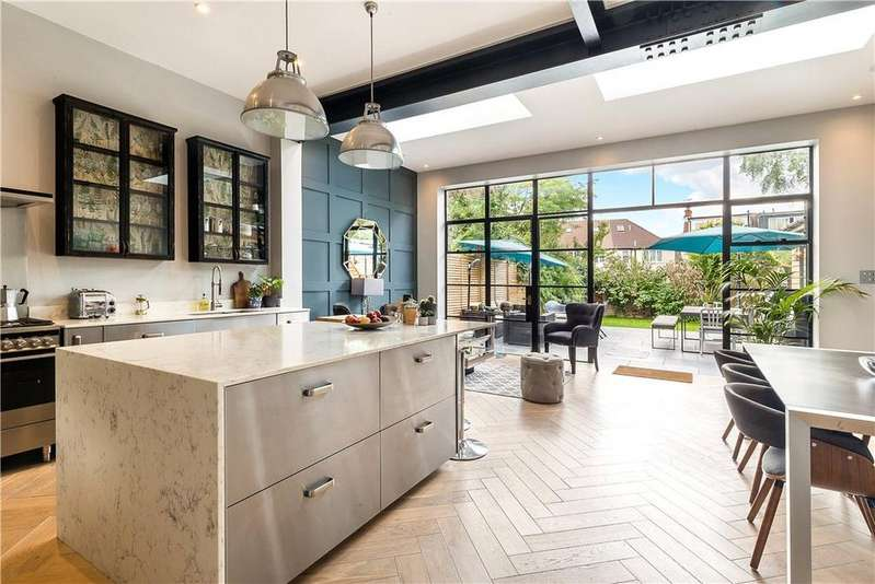 5 Bedrooms Semi Detached House for sale in Leighton Gardens, Kensal Rise, London, NW10