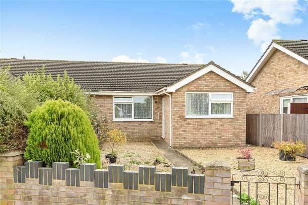 2 Bedrooms Semi Detached Bungalow for sale in Belvoir Walk, Bedford