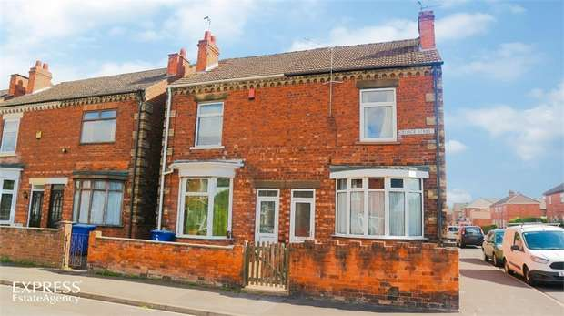 3 Bedrooms Semi Detached House for sale in George Street, Gainsborough, Lincolnshire