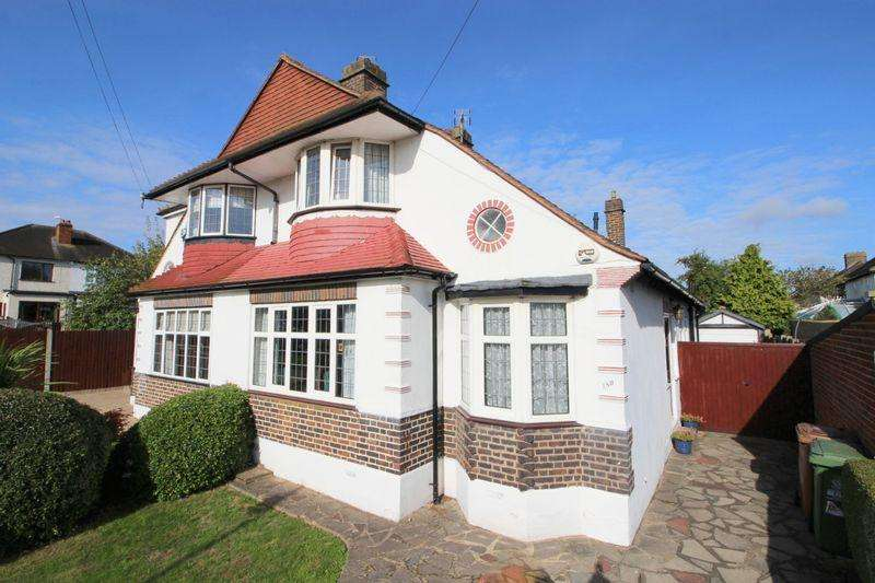 3 Bedrooms Semi Detached House for sale in Harland Avenue, Sidcup, DA15 7PA
