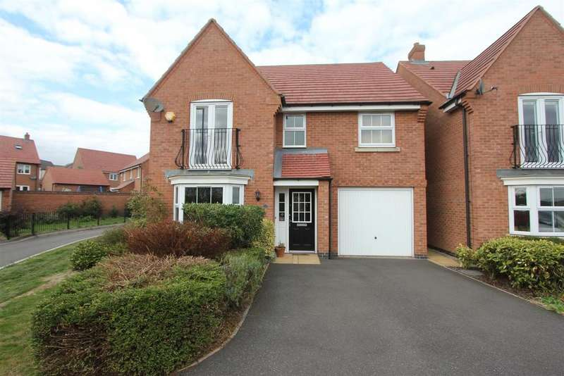 4 Bedrooms Detached House for sale in Columbus Lane, Earl Shilton