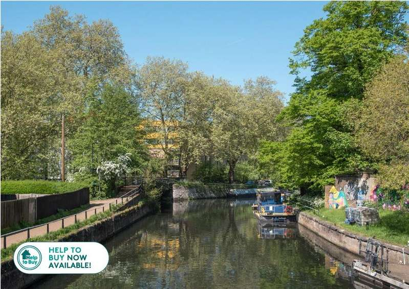 3 Bedrooms House for sale in Hunts Wharf, Leaside Road, Upper Clapton, London, E5