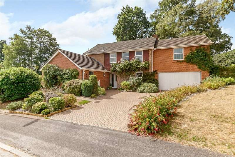 4 Bedrooms Detached House for sale in Falcon Coppice, Woolton Hill, Newbury, Berkshire, RG20