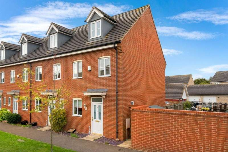 3 Bedrooms Town House for sale in The Pollards, Bourne, PE10
