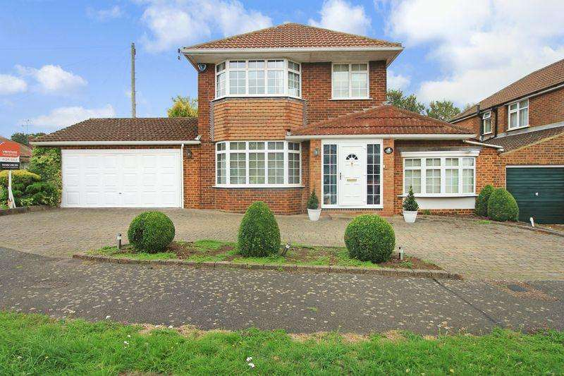 3 Bedrooms Detached House for sale in Hillview Crescent, Luton