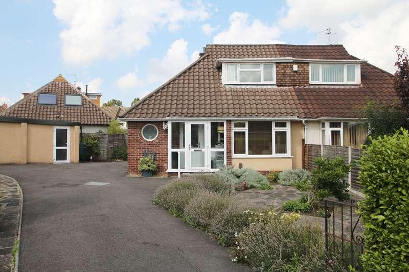 3 Bedrooms Semi Detached House for sale in Waterdale Gardens, Henleaze, Bristol BS9 4QR