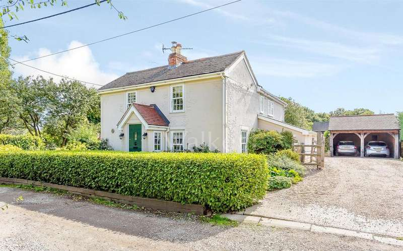 4 Bedrooms Detached House for sale in Coalhill, Rettendon Common, Chelmsford