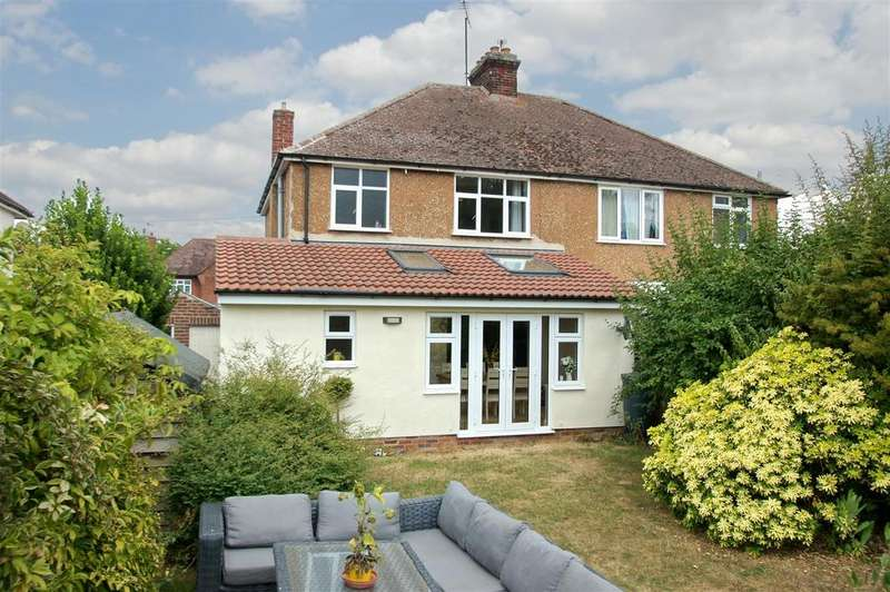 3 Bedrooms Semi Detached House for sale in Westley Road, Bury St. Edmunds