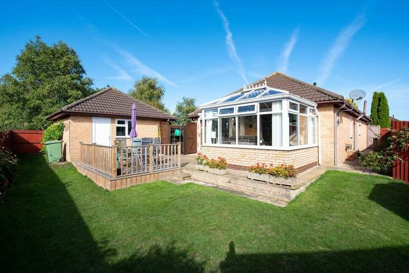 3 Bedrooms Detached Bungalow for sale in Barkston Close, Bourne, PE10