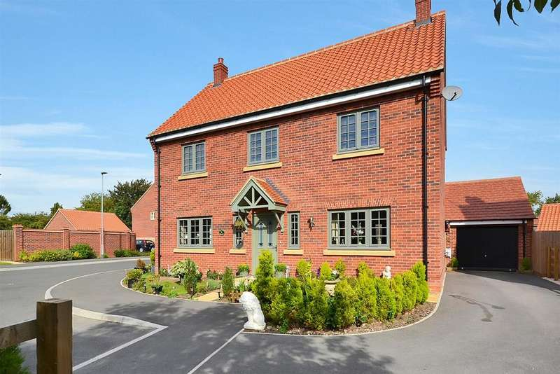 4 Bedrooms Detached House for sale in Becketts Field, Southwell